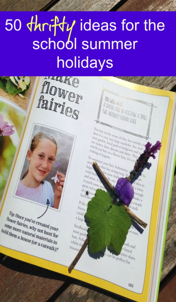 Frugal and thrifty ideas for the school summer holidays. You don't need to worry that school vacation is here and you are on a low budgte there are lots of low cost and no cost things you can do in the school holidays Fun on a budget is always possible with a little creative thinking