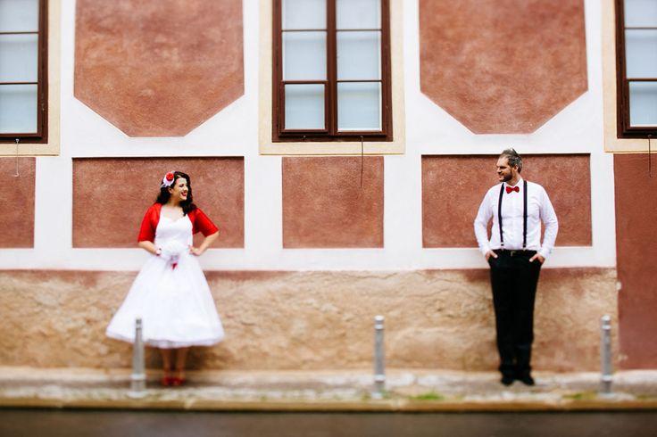 Pin Up Wedding in Croatia: Mia & Dražen