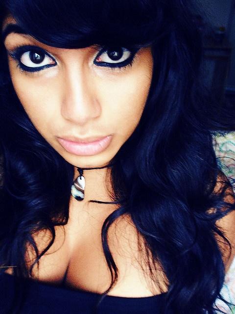 Marvelous 1000 Ideas About Blue Black Hair Color On Pinterest Black Hair Short Hairstyles For Black Women Fulllsitofus