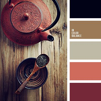 15 best images about warm colors to dye for on pinterest - Brown and maroon color scheme ...