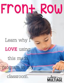 See Jane Teach Multiage: Front Row
