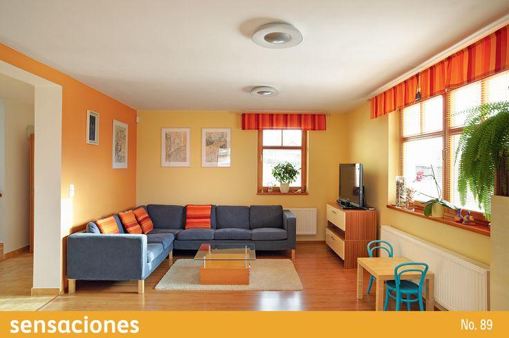 Aprovecha al máximo la energía de los colores cálidos fusionándolos con tonos neutros. Descubre más tips en nuestra Revista Sensaciones: http://www.comex.com.mx/sensaciones_online