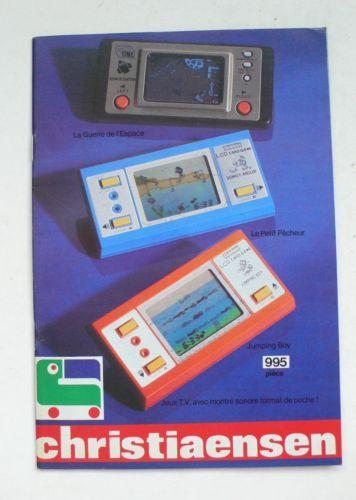 Vintage-CHRISTIAENSEN-1982-Toy-Shop-Catalog-Katalog-Star-Wars-Playmobil-Lego
