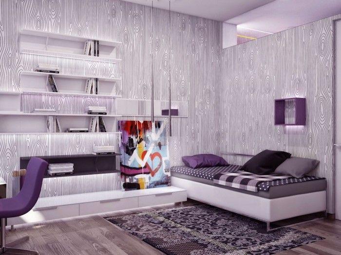 90 Coole Teenager Zimmer Ideen Zur Inspiration Archzine Net Schlafzimmer Farben Lila Teenager Zimmer Schlafzimmerfarbe