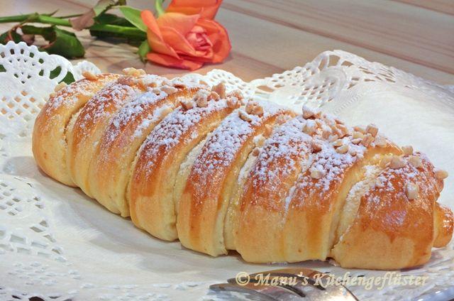 Manus Küchengeflüster: Ausprobiert: Puddinghörnchen