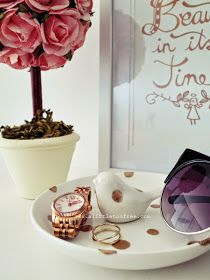a little too free : DIY Easy Jewellery Dish