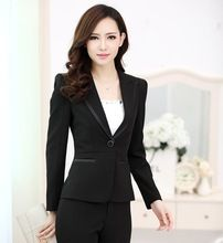 Uniforme de gala estilos profesional Blazers negocio para mujer de la oficina Blazer chaquetas de la capa Tops Outwear mujeres Blaser Feminino ropa(China (Mainland))