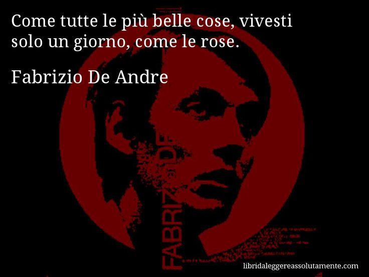 Cartolina con aforisma di Fabrizio De Andre (50)