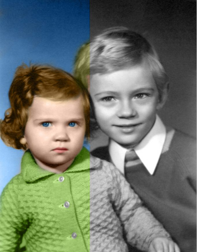 kanalija: colorize Your Black and White photo for $5, on fiverr.com
