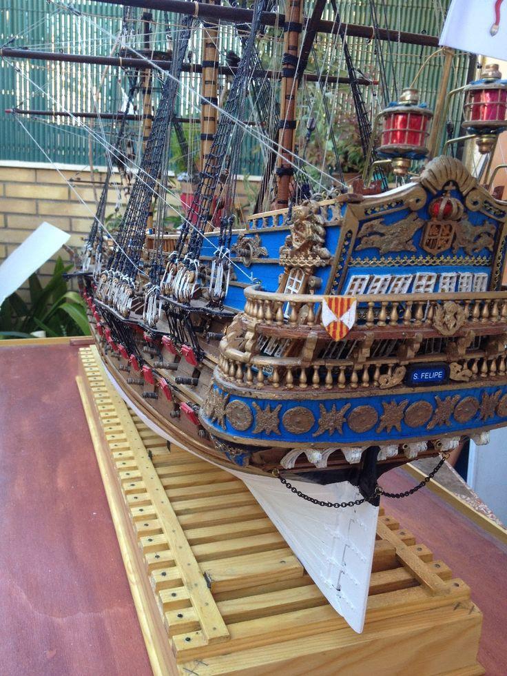 Maqueta del barco San Felipe - Buscar con Google