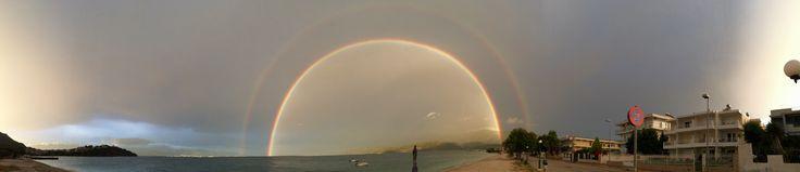 Beautiful double rainbow May 2015