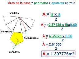 Resultado de imagen para formulas para hallar areas de figuras geometricas