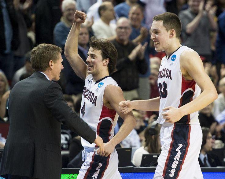Gonzaga men defeat Iowa 87-68 - A picture story at Spokesman.com