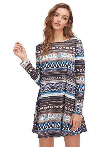 OEUVRE Boho Long Sleeve For Women Knee Length Dresses Flo... https://www.amazon.com/dp/B01H01CDPQ/ref=cm_sw_r_pi_awdb_x_ng2QzbA6A7CXB