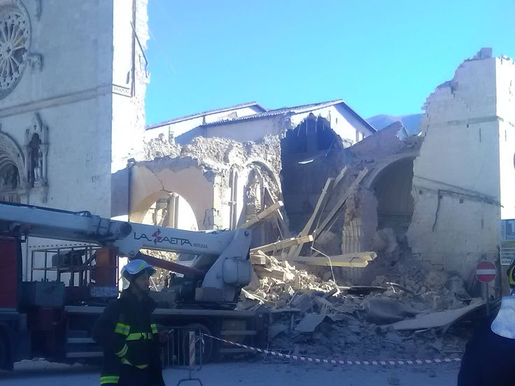 BREAKING: Earthquake destroys Basilica of St. Benedict in Norcia, Italy