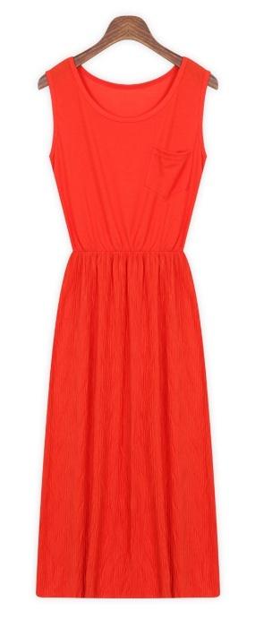 Casual dress wiht wrinkle