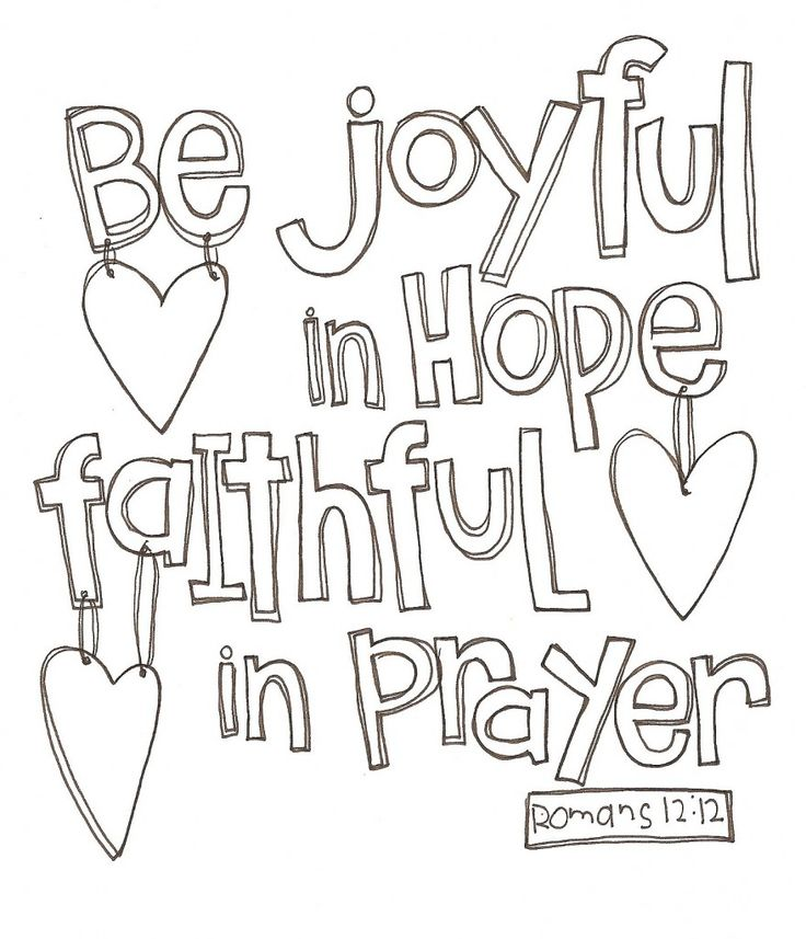 love this scripture and the fact that you can print it and color it however you - Coloring Pages You Can Print