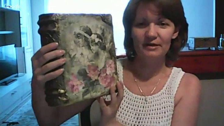 Анна Стойчева Имитация старого зеркала и декорирование рамки