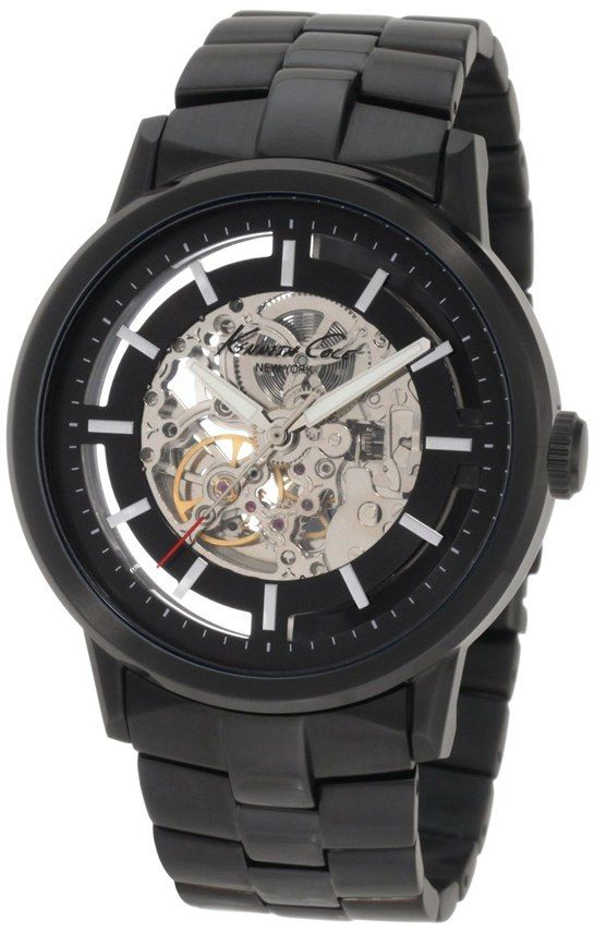 Kenneth Cole New York Men's KC3981 Black-Link Translucent Watch Review http://reviewawatch.com/kenneth-cole-new-york-mens-kc3981-black-link-translucent-watch-review/