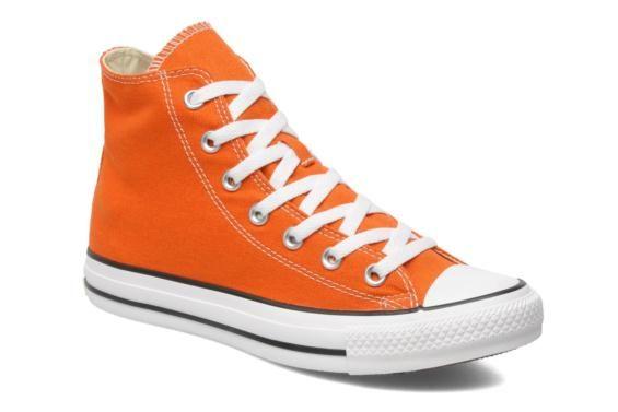 Converse Chuck Taylor All Star Hi W (Orange) - Baskets chez ...