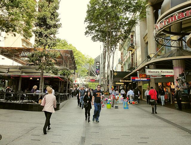 Queen Street Mall, Brisbane, Australia