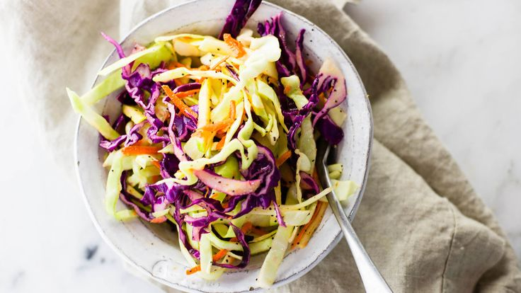 Light Coleslaw with Poppy Seed Dressing   Recipe   Poppies, Coleslaw ...