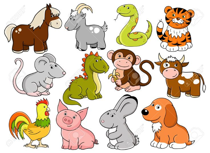 Image result for chinese horoscope animals