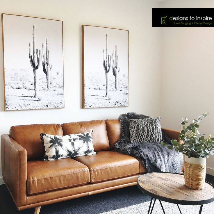 The allure of country boho chic  #tanleather #silvergum #hides #cacti #designstoinspire #styling