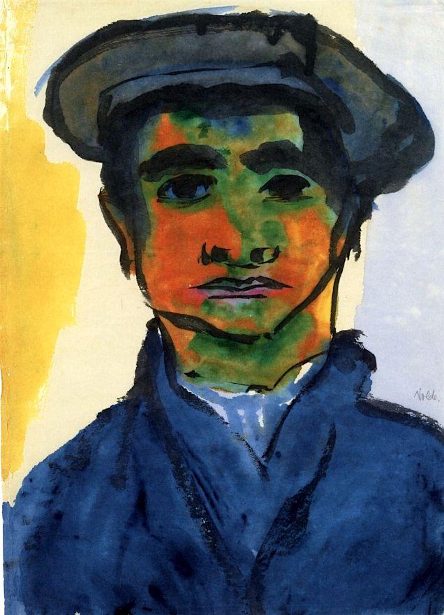 Portrait of a Boy Emil Nolde - 1921