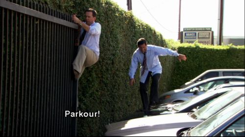 Parkour! #TheOffice