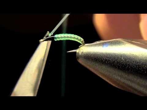 Micro Caddis Larva Fly Tying Video | How To Tie Micro Caddis Larva