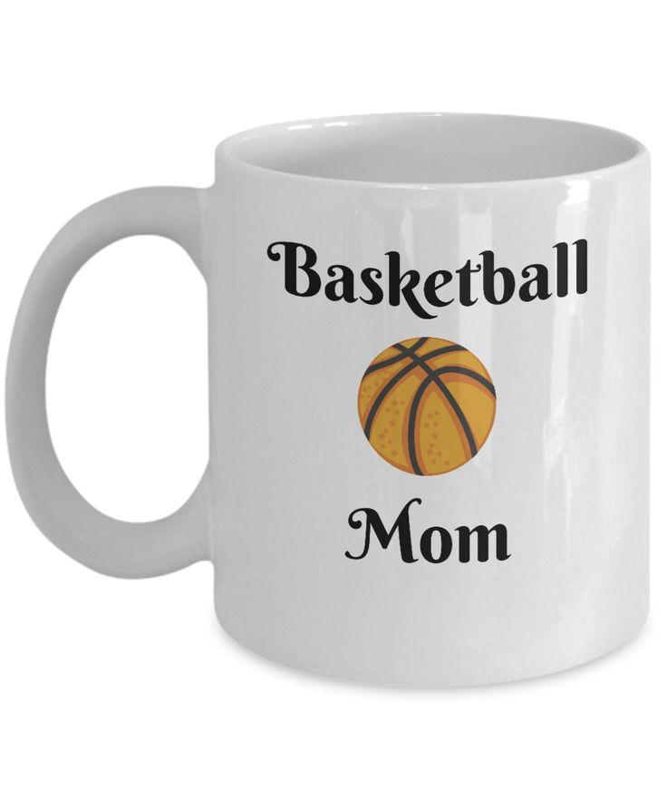 Basketball Mom Novelty Coffee Mug Custom Printed Mug