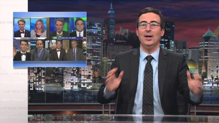 John Oliver Hosts a Mathematically Representative Climate Change Debate on 'Last Week Tonight'