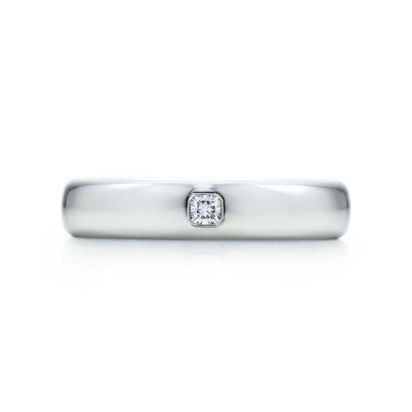ルシダ ダイヤモンド ウェディング バンドリング(4mm) - Tiffany & Co.(ティファニー)の結婚指輪(マリッジリング)結婚指輪はどこで買う?ティファニーのマリッジリングの参考一覧♡