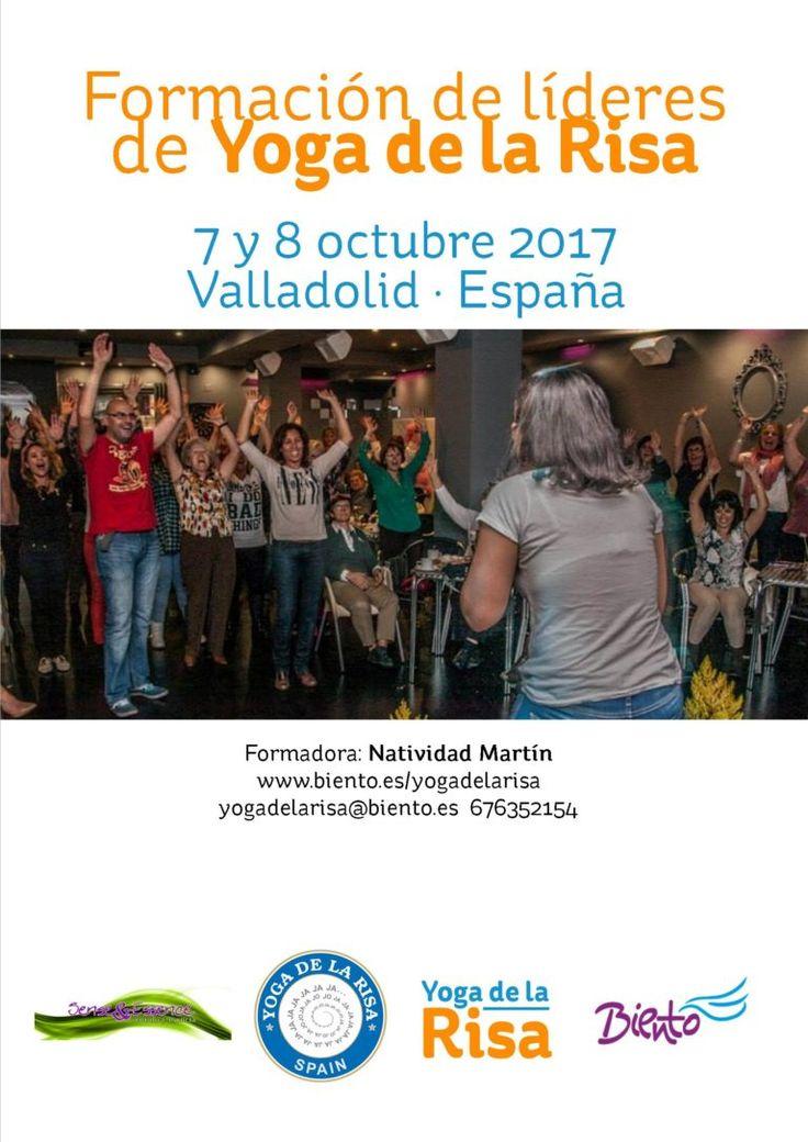 Formación de Yoga de la Risa. Valladolid  7 y 8 octubre 2017