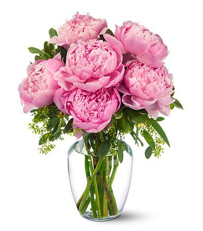Pink Peonies Free Virtual eGift at 1-800-FLORALS Virtual Florist