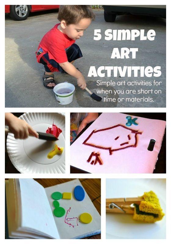 Toddler Summer Craft and Art