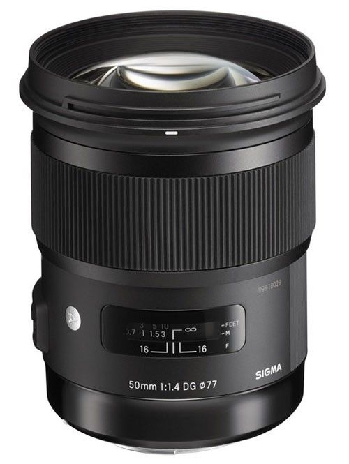 Sigma 50mm f1.4 ART series lens for Nikon - look for the youtube review link below