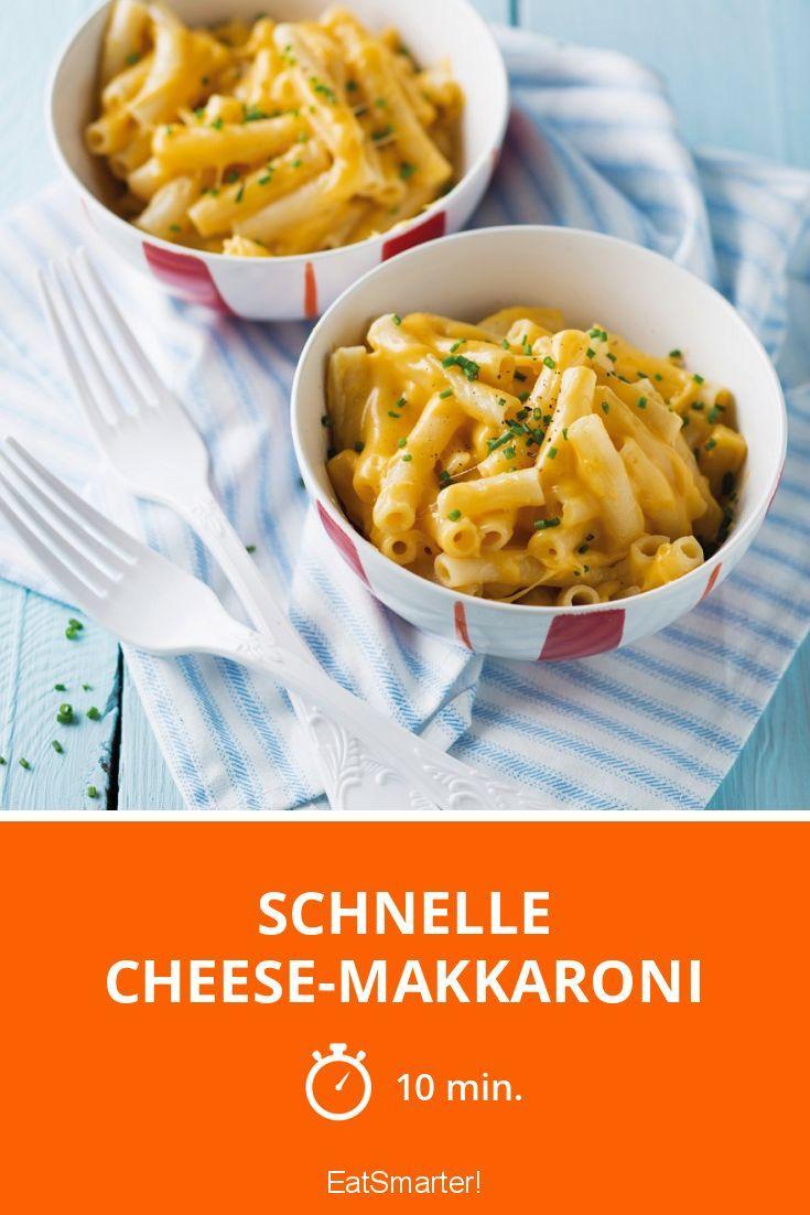 Schnelle Cheese-Makkaroni - smarter - Zeit: 10 Min. | eatsmarter.de