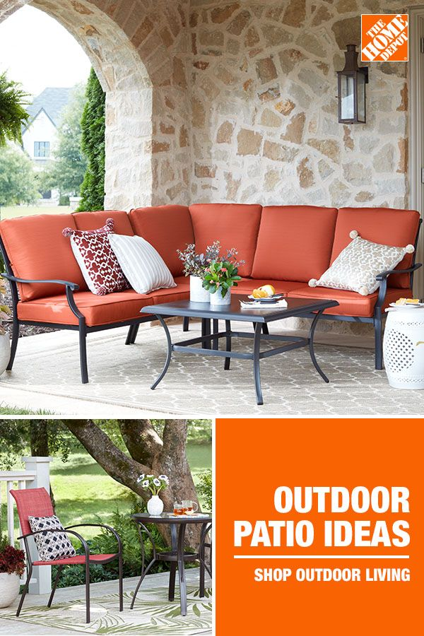 Dress Your Dream Outdoor Space No Matter The Size The Home Depot Offers A Variety Of Exclusiv Patio Furniture Collection Patio Design Outdoor Furniture Decor