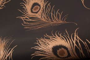 Glitter Peacock Bronze wallpaper by Albany