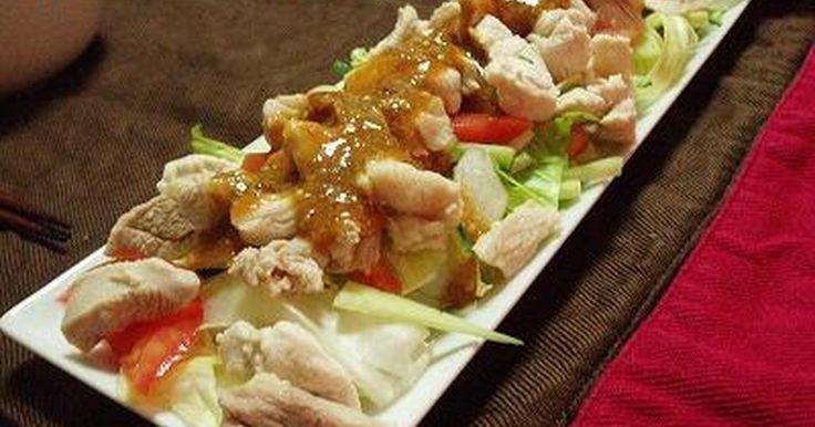 さっぱりスタミナがつくメニューです。たれがなくても簡単に手作り、本格的な味が楽しめます♪お豆腐サラダにかけても美味♪