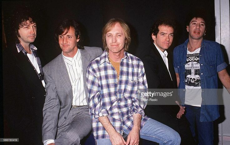 Tom Petty And The Heartbreakers Launching Their World Tour - 1992, Tom Petty And The Heartbreakers