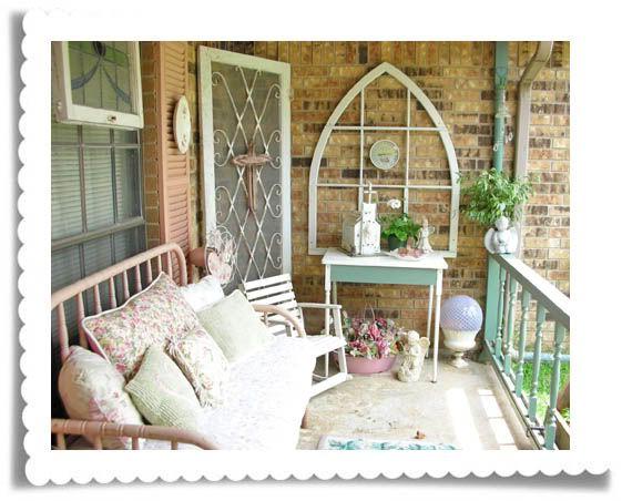 Porch verandah cottage shabby chic