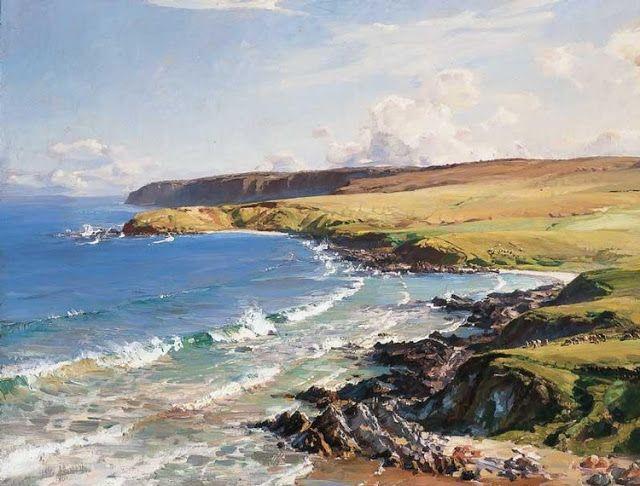 The South Coast - Hans Heysen
