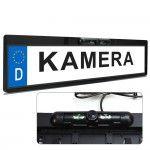 XOMAX XM-014 Rückfahrkamera mit Nummerschild-Halterung 001