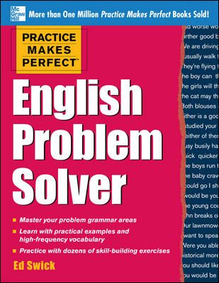 11 best mind your language images on pinterest mcgraw hill practice makes perfect english problem solver with 110 exercises pdf books library land fandeluxe Image collections