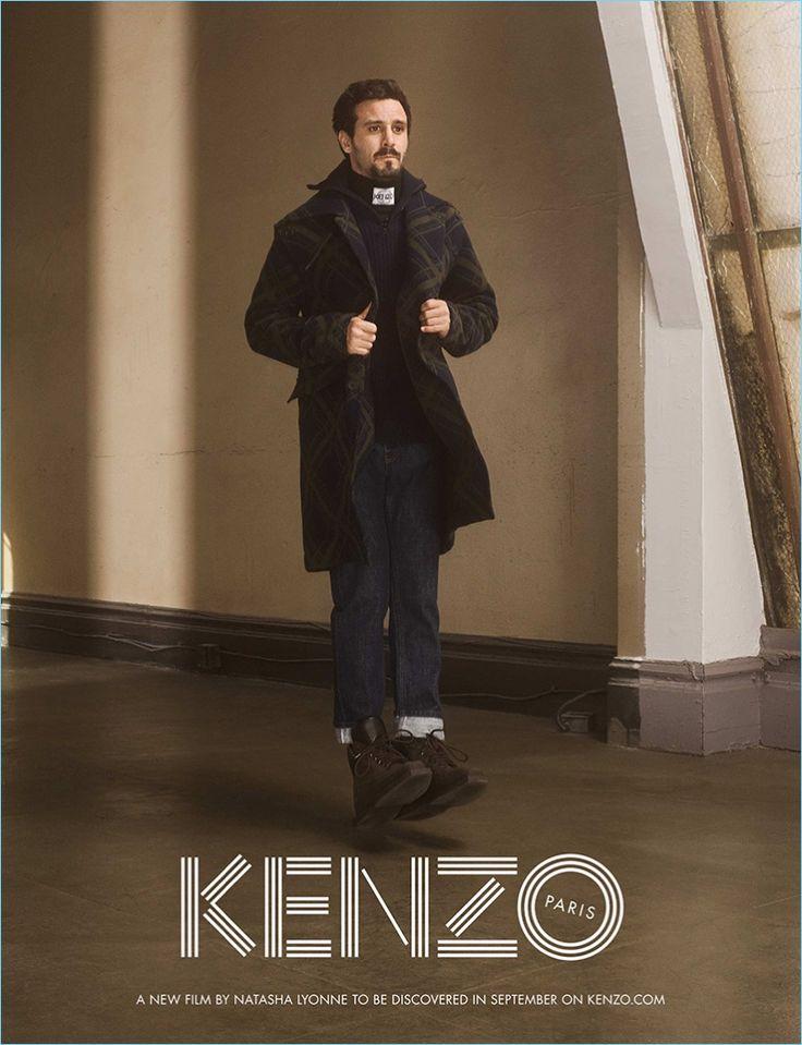 Casper Sejersen photographs James Ransone for Kenzo's fall-winter 2017 campaign.