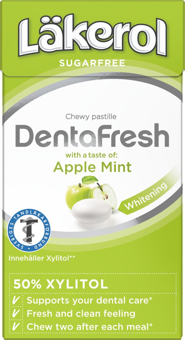 Läkerol DentaFresh Apple Mint