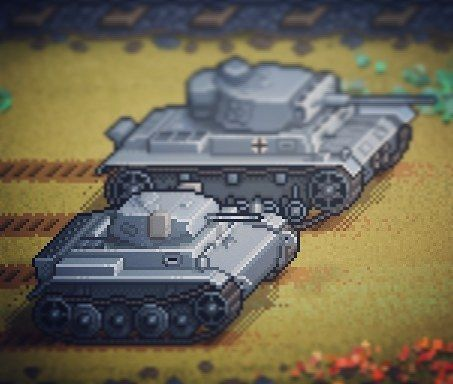 """31 Likes, 1 Comments - Pixel Panzers Official InstaG! (@panczarone) on Instagram: """"🇩🇪 Pixel Panzers - Panzer II Luchs Scout Tank & revisited PzIII sprites🙅 Check out our other…"""""""